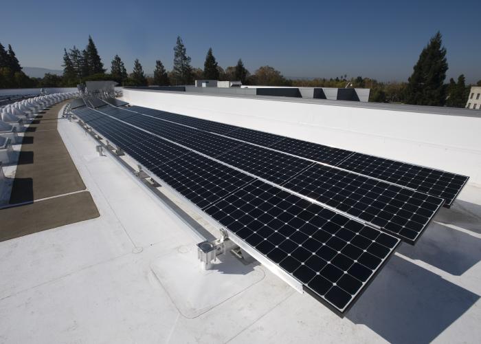 Solar Panel In NASA