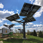 Solar Trees In Parks