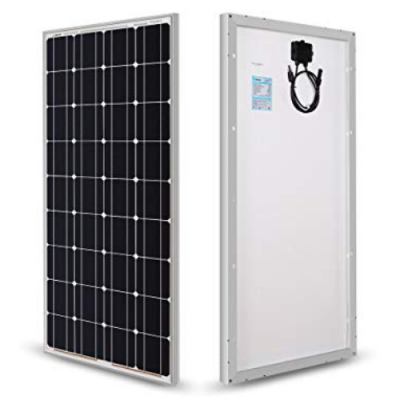 KOMAES 100 Watts Solar Panel